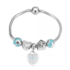 Stainless Steel Charms Bracelet Y245184