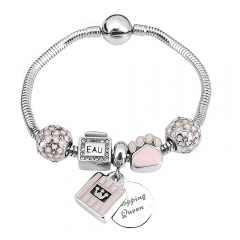 Stainless Steel Charms Bracelet Y265224