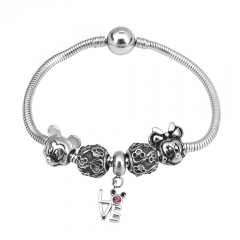 Stainless Steel Charms Bracelet Y255213