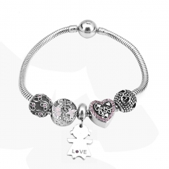 Stainless Steel Charms Bracelet Y245207