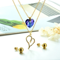 Stainless steel jewelry set for women STAO-3843