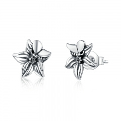 925 Sterling Silver Earrings SCE887