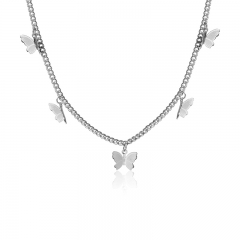 Stainless Steel Necklace NS-0757A