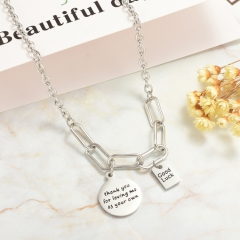 Stainless Steel Necklace   NS-0776