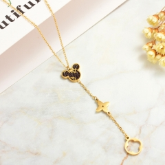 Stainless Steel Necklace   NS-0787