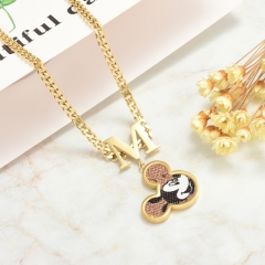 Stainless Steel Necklace   NS-0783