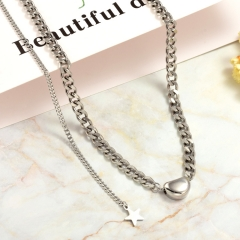 Stainless Steel Necklace   NS-0789