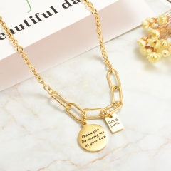 Stainless Steel Necklace   NS-0775