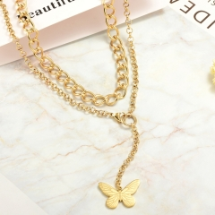 Stainless Steel Necklace   NS-0779