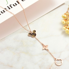 Stainless Steel Necklace   NS-0787C