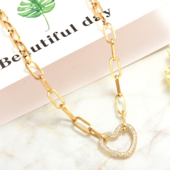 Stainless Steel Necklace   NS-0768B