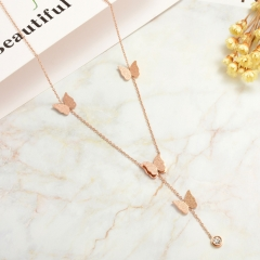 Stainless Steel Necklace   NS-0793C