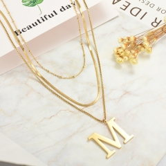 Stainless Steel Necklace   NS-0778