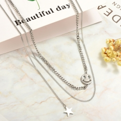 Stainless Steel Necklace   NS-0788